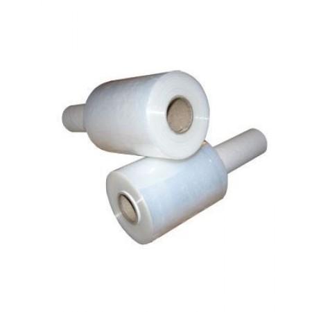 Стретч пленка мини для ручной обмотки пачек с рукояткой